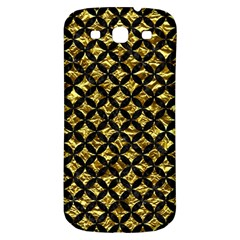 Circles3 Black Marble & Gold Foil (r) Samsung Galaxy S3 S Iii Classic Hardshell Back Case by trendistuff