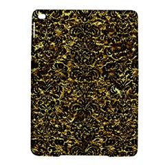 Damask2 Black Marble & Gold Foil (r) Ipad Air 2 Hardshell Cases by trendistuff