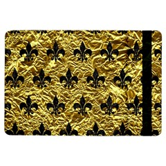 Royal1 Black Marble & Gold Foil Ipad Air Flip by trendistuff