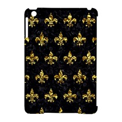 Royal1 Black Marble & Gold Foil (r) Apple Ipad Mini Hardshell Case (compatible With Smart Cover) by trendistuff
