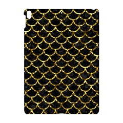 Scales1 Black Marble & Gold Foil Apple Ipad Pro 10 5   Hardshell Case by trendistuff