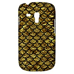 Scales1 Black Marble & Gold Foil (r) Galaxy S3 Mini by trendistuff