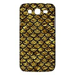 Scales1 Black Marble & Gold Foil (r) Samsung Galaxy Mega 5 8 I9152 Hardshell Case  by trendistuff
