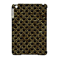 Scales2 Black Marble & Gold Foil Apple Ipad Mini Hardshell Case (compatible With Smart Cover)