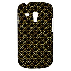 Scales2 Black Marble & Gold Foil Galaxy S3 Mini by trendistuff
