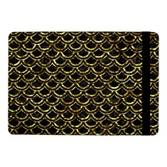 Scales2 Black Marble & Gold Foil Samsung Galaxy Tab Pro 10 1  Flip Case by trendistuff