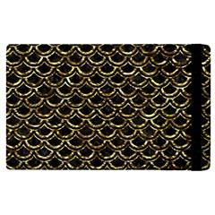 Scales2 Black Marble & Gold Foil Apple Ipad Pro 9 7   Flip Case by trendistuff