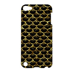 Scales3 Black Marble & Gold Foil Apple Ipod Touch 5 Hardshell Case by trendistuff
