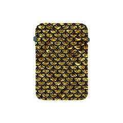Scales3 Black Marble & Gold Foil (r) Apple Ipad Mini Protective Soft Cases by trendistuff