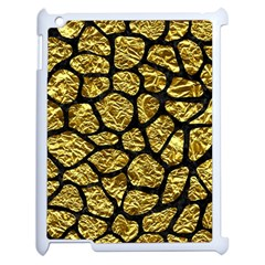 Skin1 Black Marble & Gold Foil Apple Ipad 2 Case (white) by trendistuff