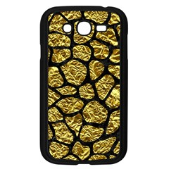 Skin1 Black Marble & Gold Foil Samsung Galaxy Grand Duos I9082 Case (black) by trendistuff
