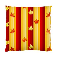 Autumn Background Standard Cushion Case (two Sides) by AllOverIt