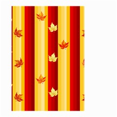 Autumn Background Small Garden Flag (two Sides) by AllOverIt