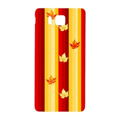 Autumn Background Samsung Galaxy Alpha Hardshell Back Case by AllOverIt