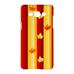 Autumn Background Samsung Galaxy A5 Hardshell Case  by AllOverIt