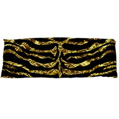 Skin2 Black Marble & Gold Foil Body Pillow Case (dakimakura) by trendistuff