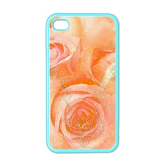 Flower Power, Wonderful Roses, Vintage Design Apple Iphone 4 Case (color) by FantasyWorld7