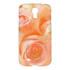 Flower Power, Wonderful Roses, Vintage Design Samsung Galaxy S4 I9500/i9505 Hardshell Case by FantasyWorld7