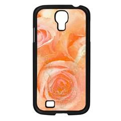 Flower Power, Wonderful Roses, Vintage Design Samsung Galaxy S4 I9500/ I9505 Case (black) by FantasyWorld7