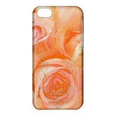 Flower Power, Wonderful Roses, Vintage Design Apple Iphone 5c Hardshell Case by FantasyWorld7