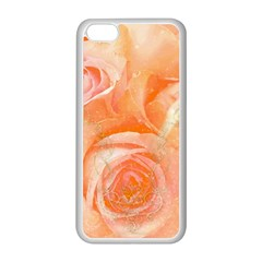 Flower Power, Wonderful Roses, Vintage Design Apple Iphone 5c Seamless Case (white) by FantasyWorld7