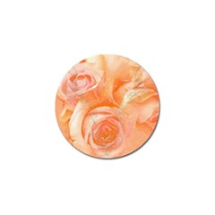 Flower Power, Wonderful Roses, Vintage Design Golf Ball Marker by FantasyWorld7