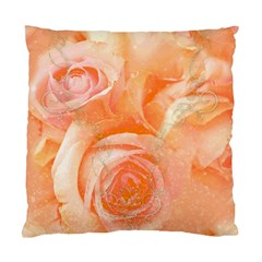 Flower Power, Wonderful Roses, Vintage Design Standard Cushion Case (one Side) by FantasyWorld7
