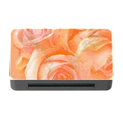 Flower Power, Wonderful Roses, Vintage Design Memory Card Reader With Cf by FantasyWorld7