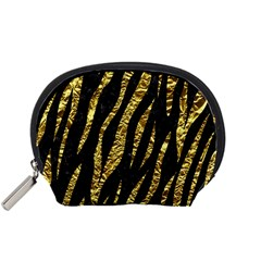 Skin3 Black Marble & Gold Foil Accessory Pouches (small)