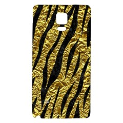 Skin3 Black Marble & Gold Foil (r) Galaxy Note 4 Back Case by trendistuff