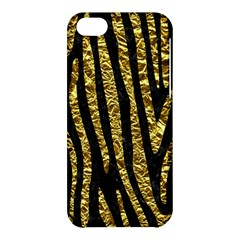 Skin4 Black Marble & Gold Foil (r) Apple Iphone 5c Hardshell Case by trendistuff