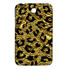 Skin5 Black Marble & Gold Foil Samsung Galaxy Tab 3 (7 ) P3200 Hardshell Case  by trendistuff
