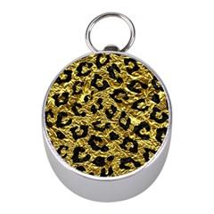 Skin5 Black Marble & Gold Foil Mini Silver Compasses by trendistuff