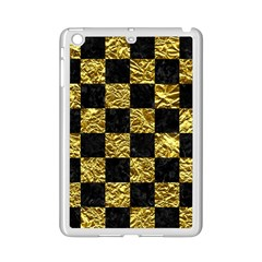 Square1 Black Marble & Gold Foil Ipad Mini 2 Enamel Coated Cases