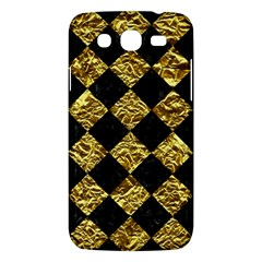 Square2 Black Marble & Gold Foil Samsung Galaxy Mega 5 8 I9152 Hardshell Case  by trendistuff