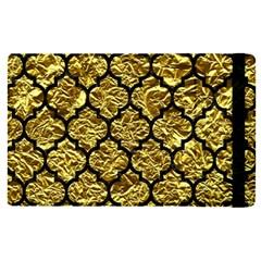 Tile1 Black Marble & Gold Foil (r) Apple Ipad Pro 12 9   Flip Case by trendistuff
