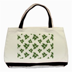 Nature Motif Pattern Design Basic Tote Bag (two Sides) by dflcprints