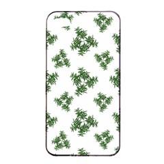 Nature Motif Pattern Design Apple Iphone 4/4s Seamless Case (black) by dflcprints