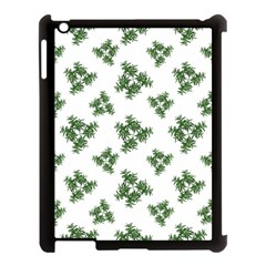 Nature Motif Pattern Design Apple Ipad 3/4 Case (black) by dflcprints