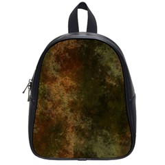 Marbled Structure 4a School Bag (small) by MoreColorsinLife