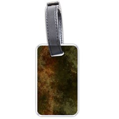 Marbled Structure 4a Luggage Tags (one Side)  by MoreColorsinLife