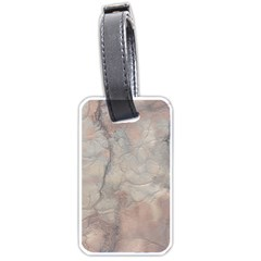 Marbled Structure 5a Luggage Tags (one Side)  by MoreColorsinLife