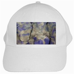 Marbled Structure 5b2 White Cap by MoreColorsinLife
