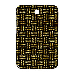 Woven1 Black Marble & Gold Foil Samsung Galaxy Note 8 0 N5100 Hardshell Case  by trendistuff