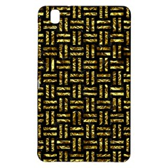 Woven1 Black Marble & Gold Foil Samsung Galaxy Tab Pro 8 4 Hardshell Case by trendistuff