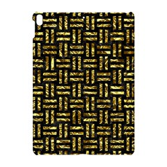 Woven1 Black Marble & Gold Foil Apple Ipad Pro 10 5   Hardshell Case by trendistuff