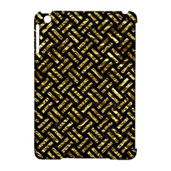 Woven2 Black Marble & Gold Foil Apple Ipad Mini Hardshell Case (compatible With Smart Cover) by trendistuff