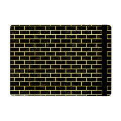 Brick1 Black Marble & Gold Glitter Apple Ipad Mini Flip Case by trendistuff