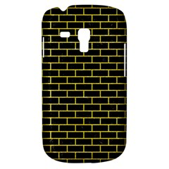 Brick1 Black Marble & Gold Glitter Galaxy S3 Mini by trendistuff