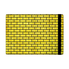 Brick1 Black Marble & Gold Glitter (r) Apple Ipad Mini Flip Case by trendistuff